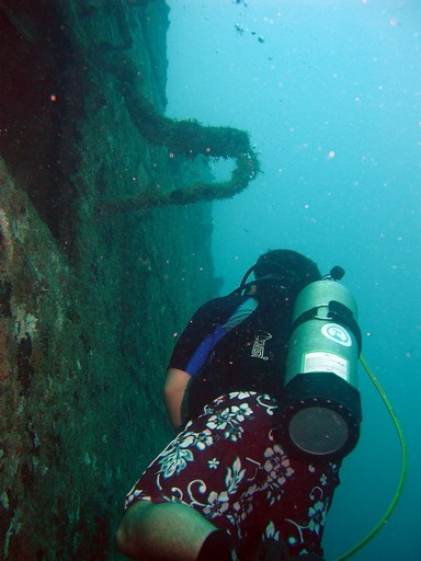 Spiegel Grove Wreck Photo