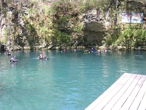 Blue Grotto -  At Water Level
