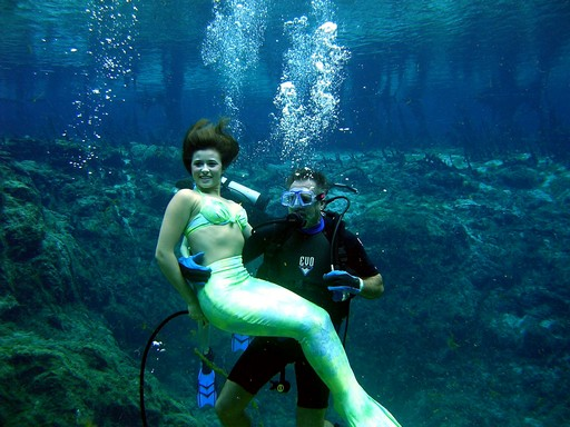 Jerry Woods and the Mermaid
